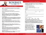 Restore America Plan Card
