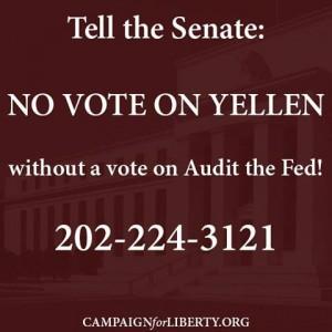 No vote, Yellen